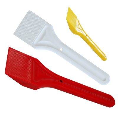 Xpert Glazing Shovels (red, white and Yellow)