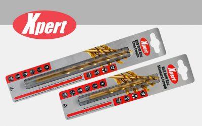 New Xpert HSS drill bits can keep up