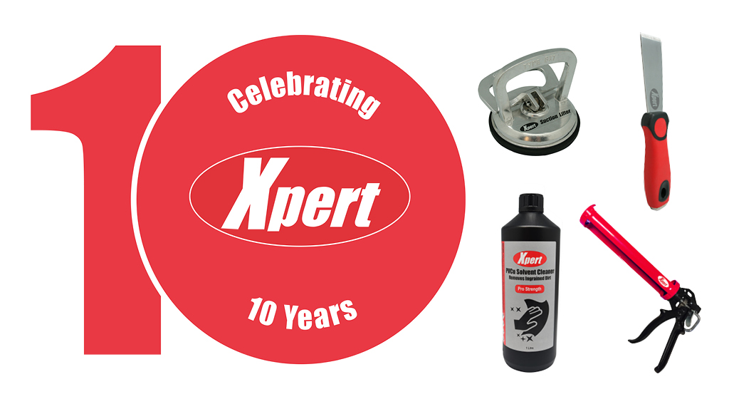 Window Ware and Xpert celebrates 10-years at the top of tools